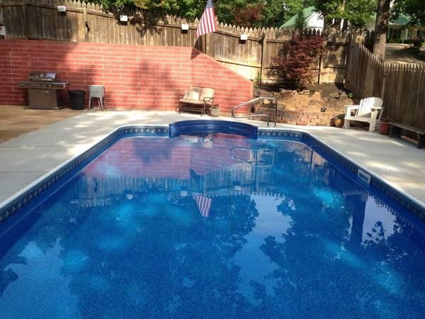 Béton piscine
